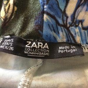 Zara Pants - Zara Dark Green Floral Velvet Palazzo Pants